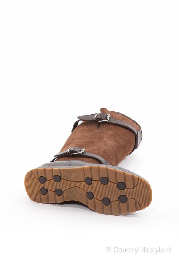 Dameslaars Xscape Choc leather
