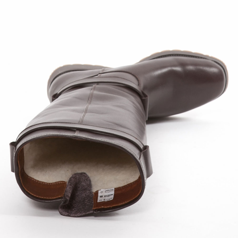 Dameslaars Xscape full grain lamb Choc leather