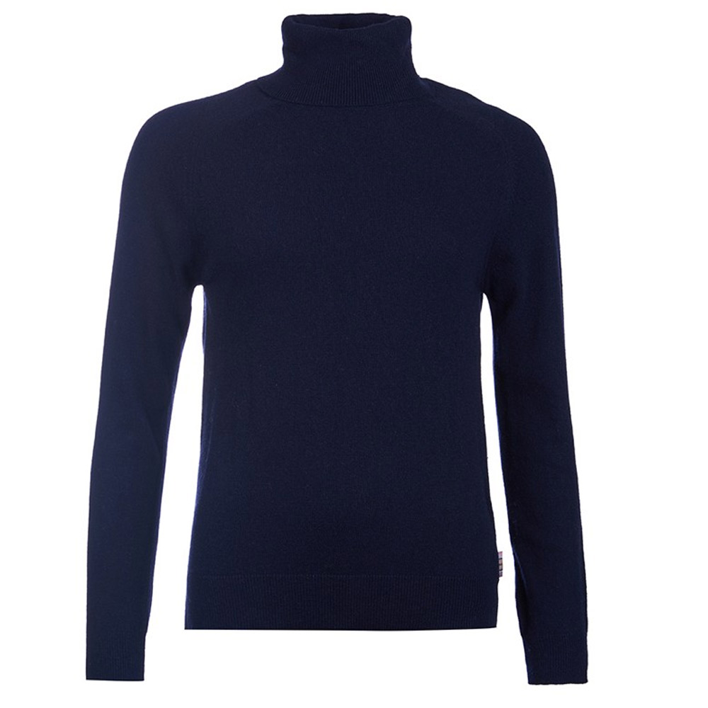 Damestrui Mill Roll Collar Navy