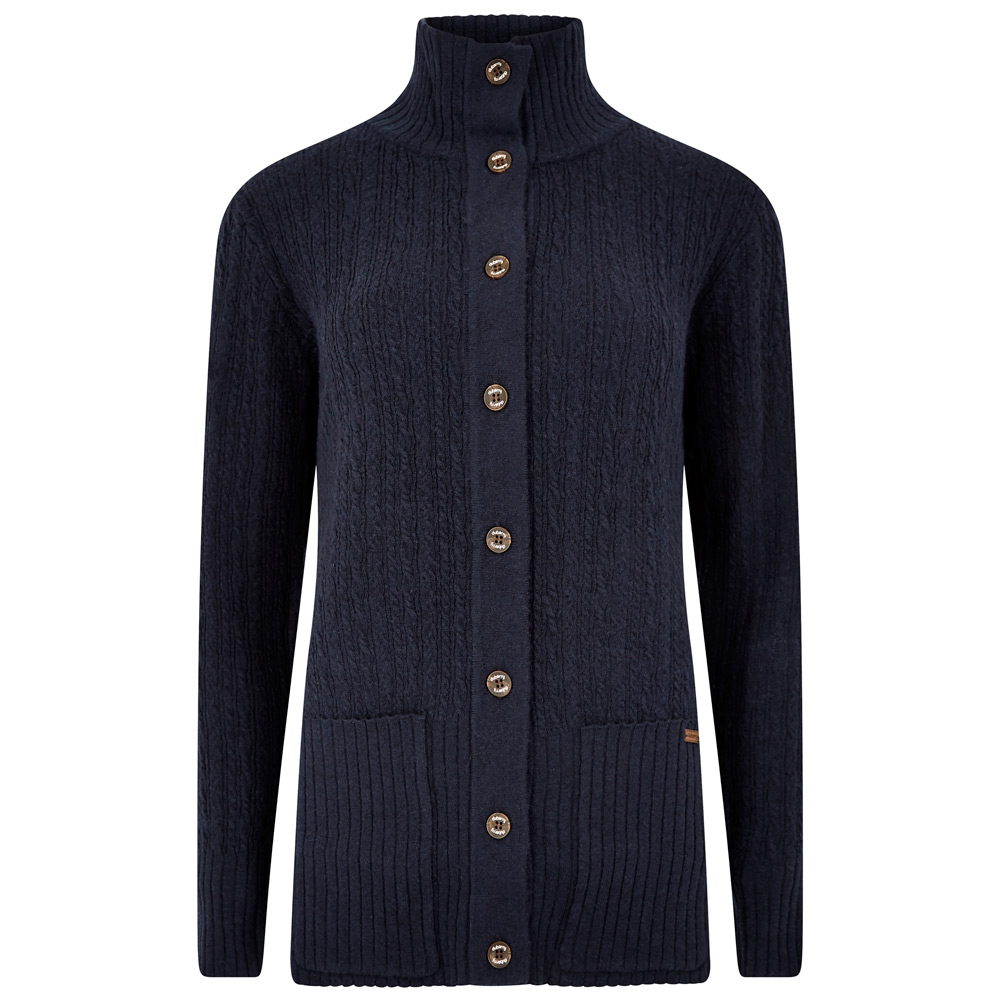 Damesvest Crofton navy