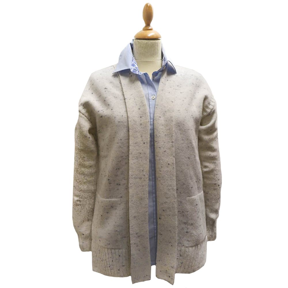 Damesvest Priory Cardigan Ecru