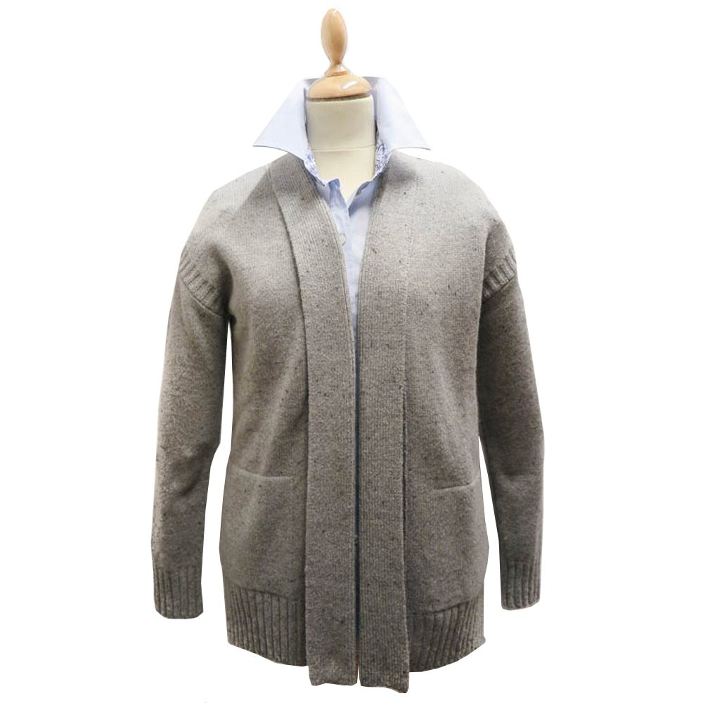 Damesvest Priory Cardigan Grijs