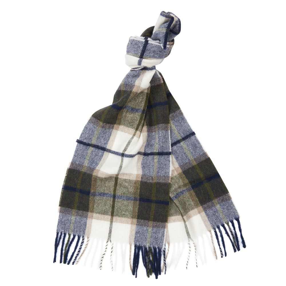 Derwent Check Scarf by Moons Forest/Pearl