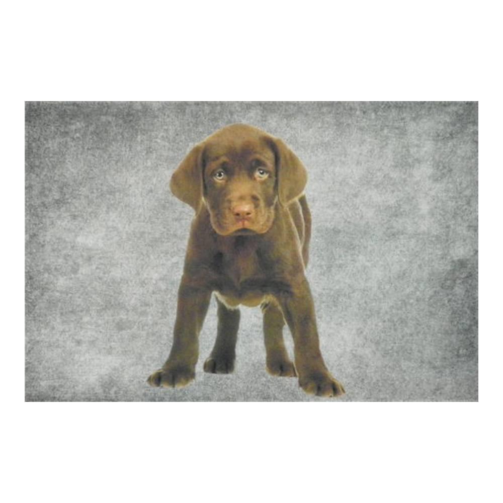 Deurmat Labrador puppy