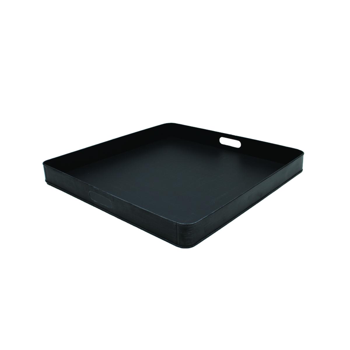 Tray - Zwart - Metaal