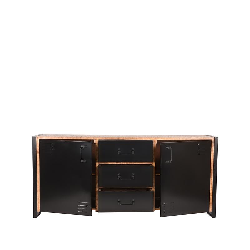 Dressoir Brussels - Rough - Mangohout - 190 cm