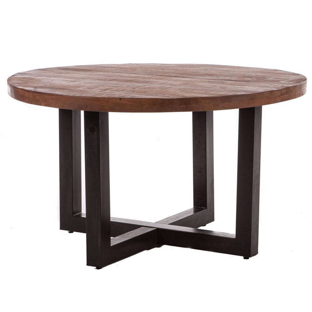 Eettafel Robuust Rond 130cm