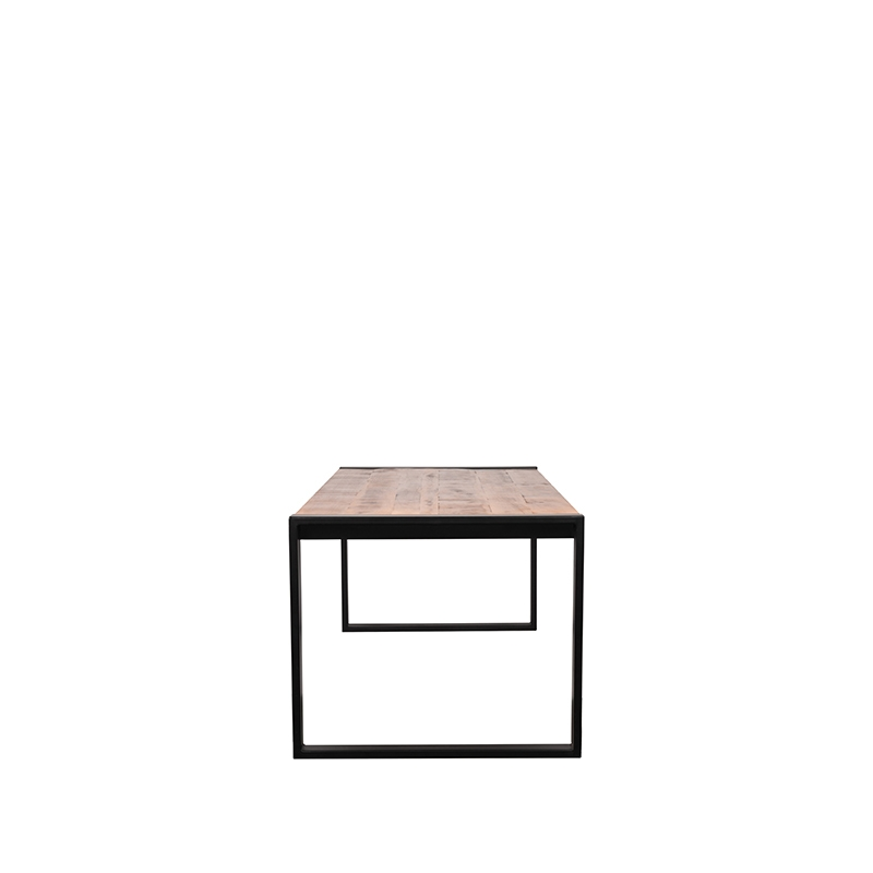Eetkamertafel Brussels - Rough - Mangohout - 200x90 cm