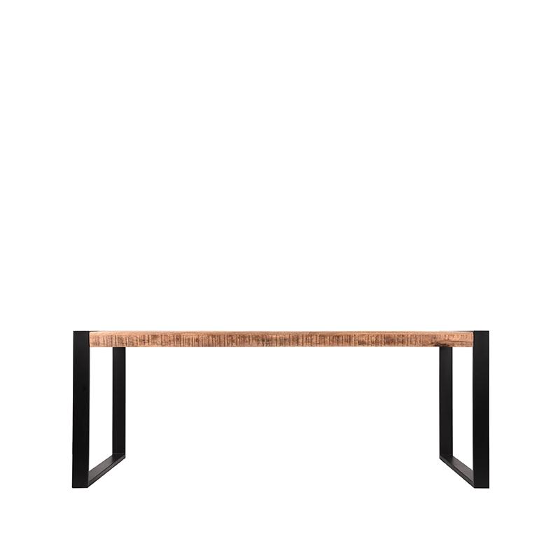 Eetkamertafel Brussels - Rough - Mangohout - 240x100 cm