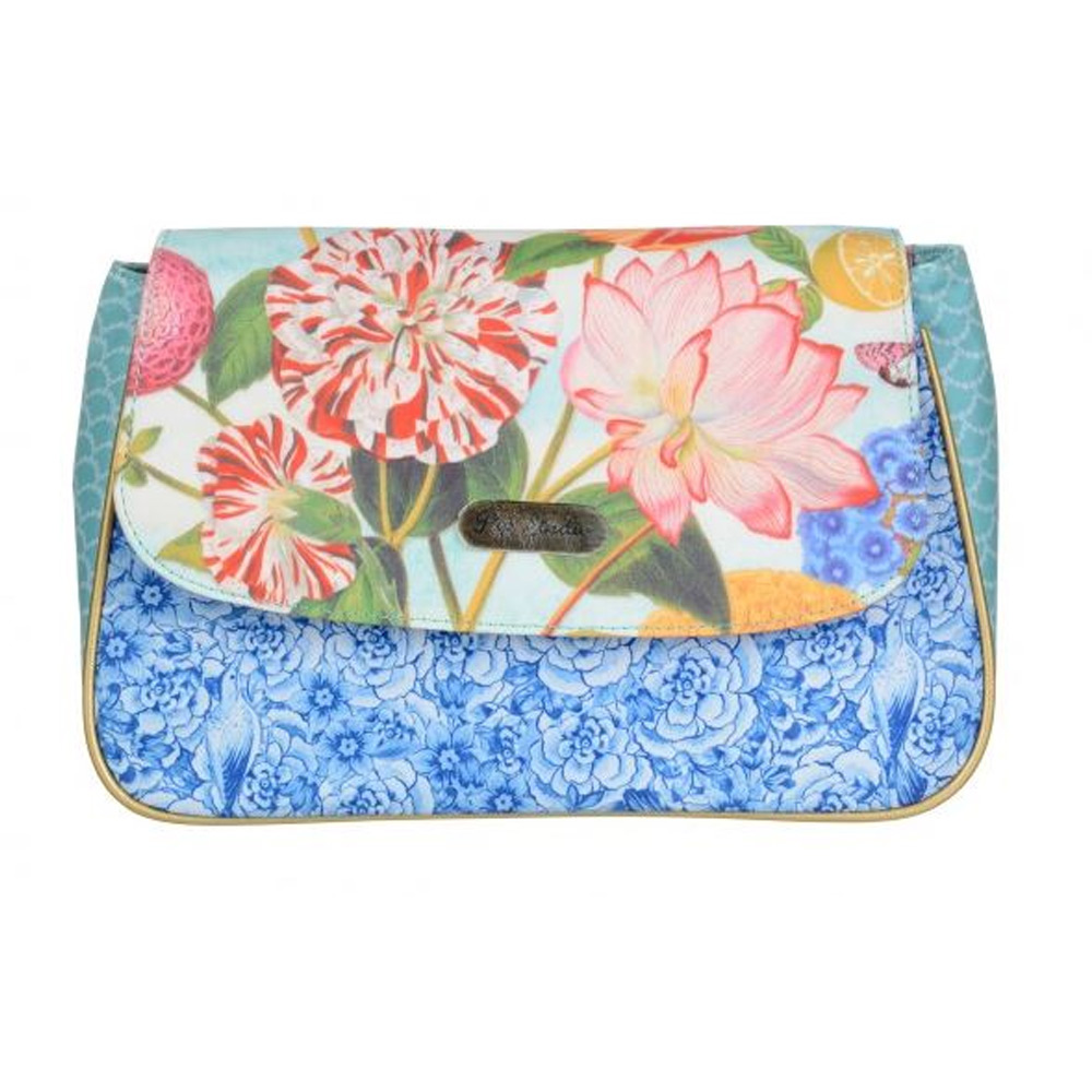 Flap Cosmetic Bag M Multicolor