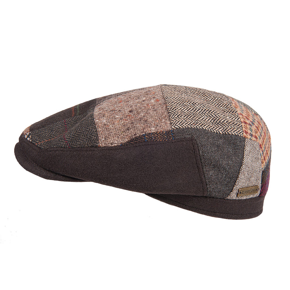 Flatcap Luigi Patchwork brown