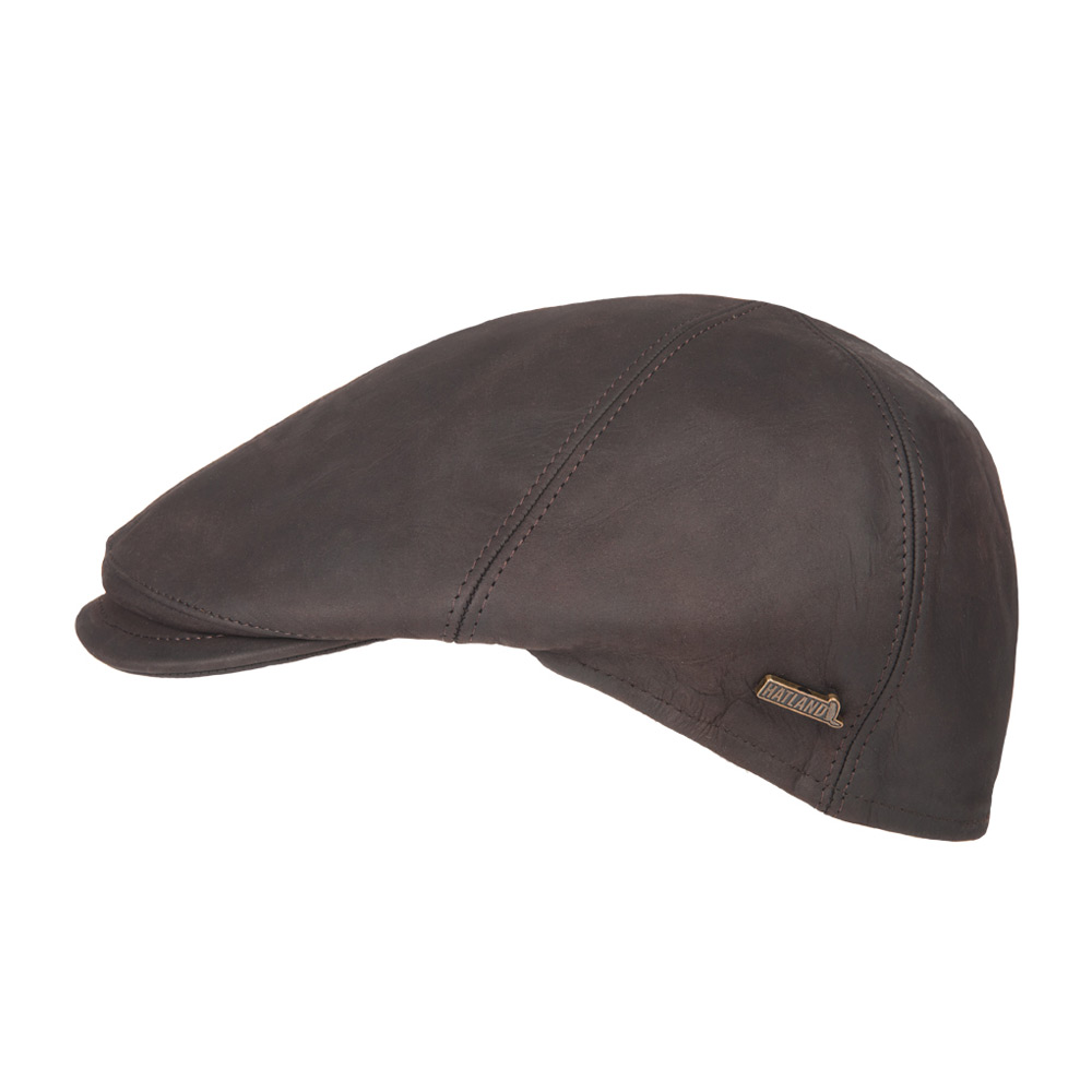 Flatcap Maiko Leather brown
