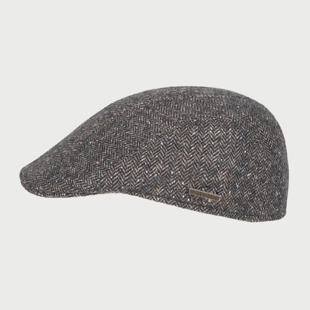 Flatcap Miquel Wool brown