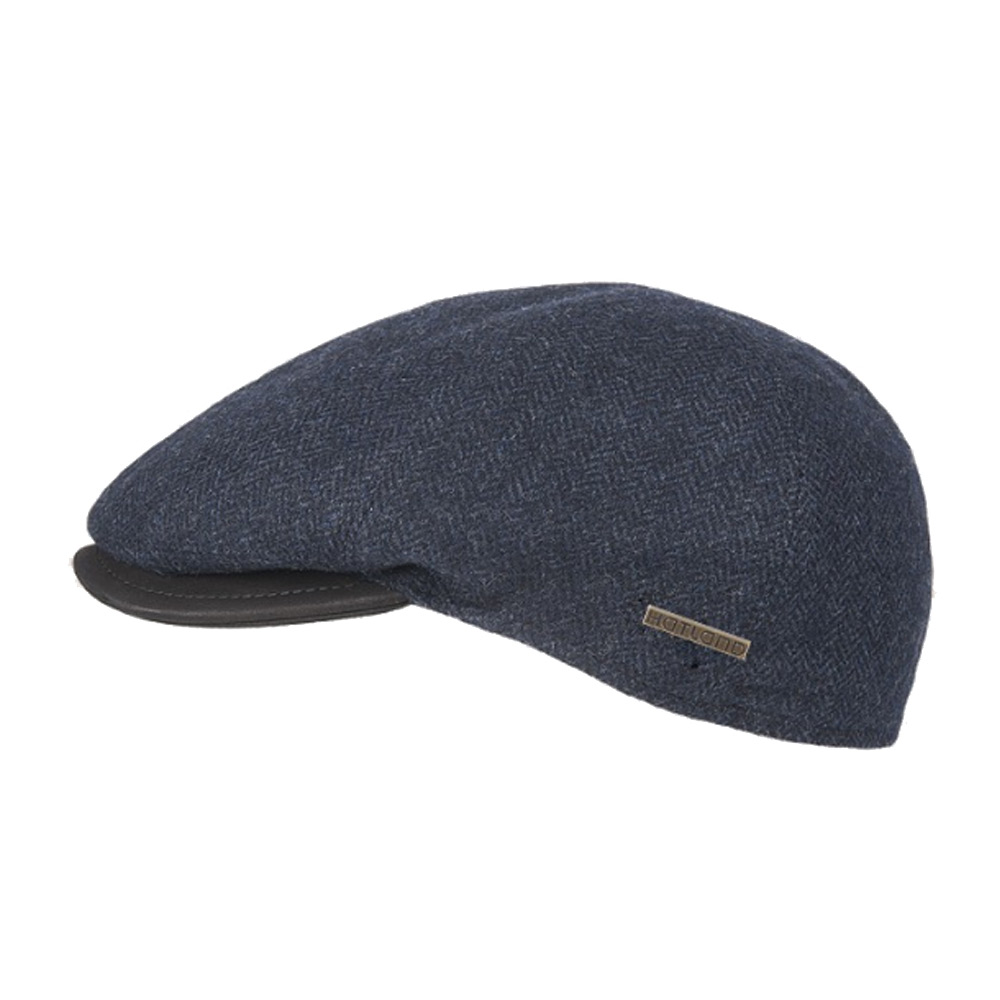 Flatcap Miquel wool navy