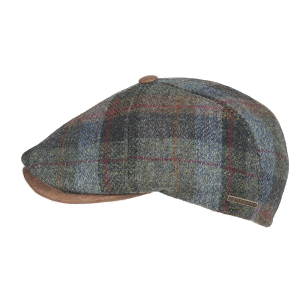 Flatcap Sion Wool green