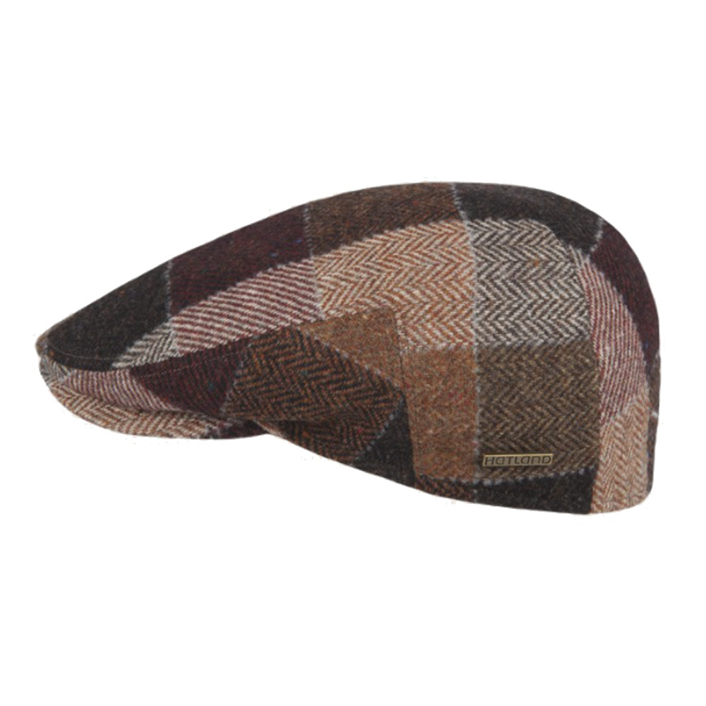 flatcap Wise wool brown