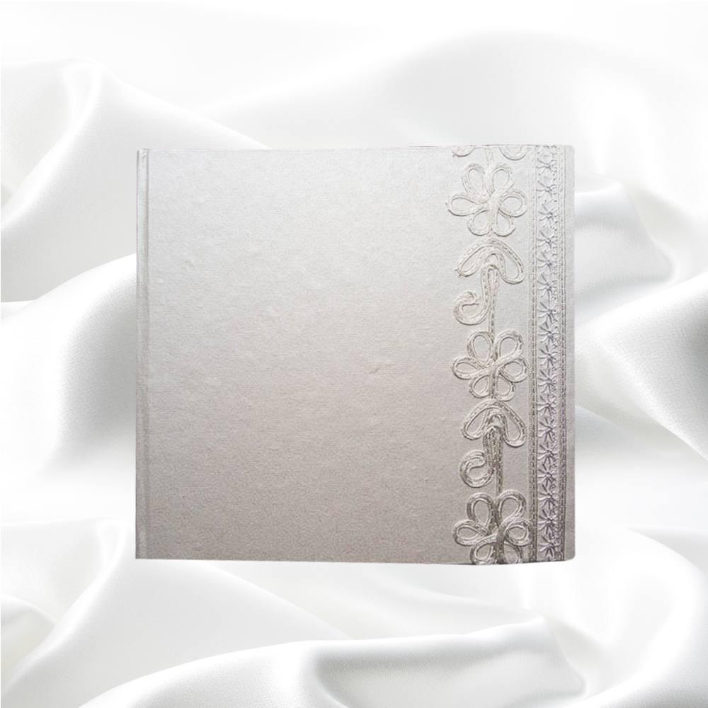 Fotoboek vierkant met borduursel