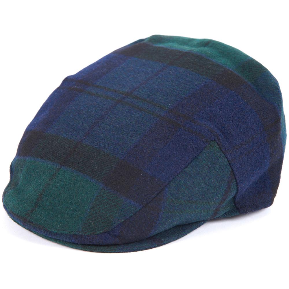 Gallingale tartan flat cap blackwatch