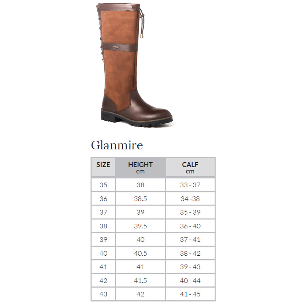 Glanmire kniehoge dameslaars Black/Brown