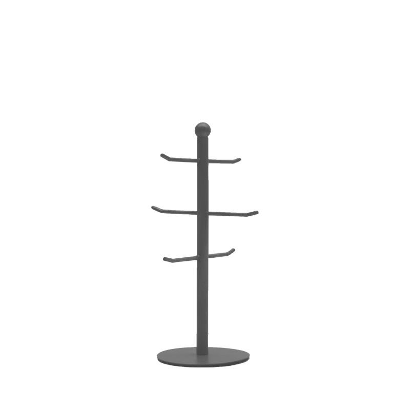 Beker toren - Grijs - Metaal