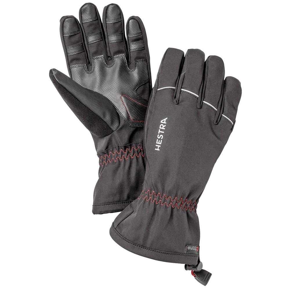 handschoen CZone Contact Gauntlet zwart