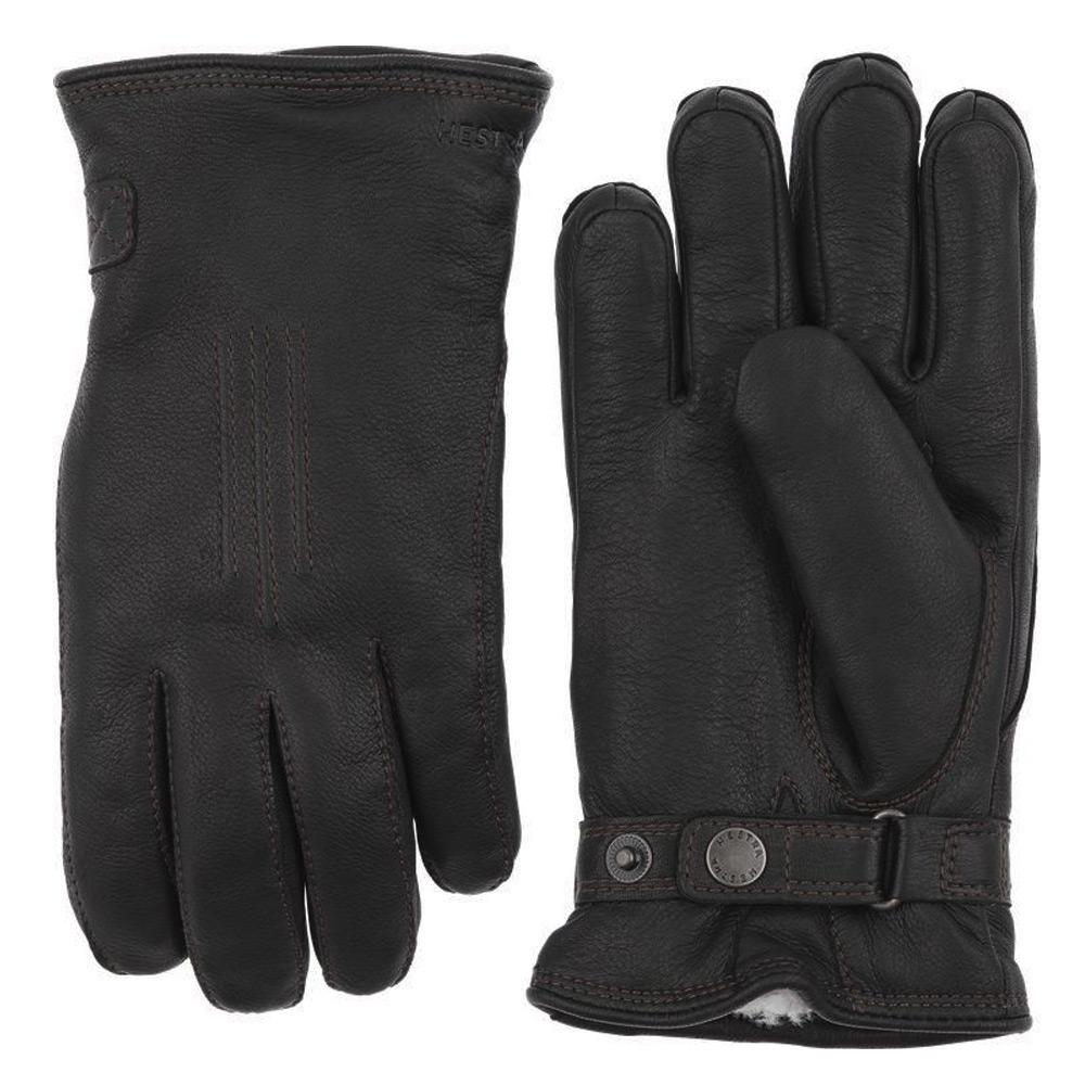 Handschoen Deerskin Lambskin Zwart
