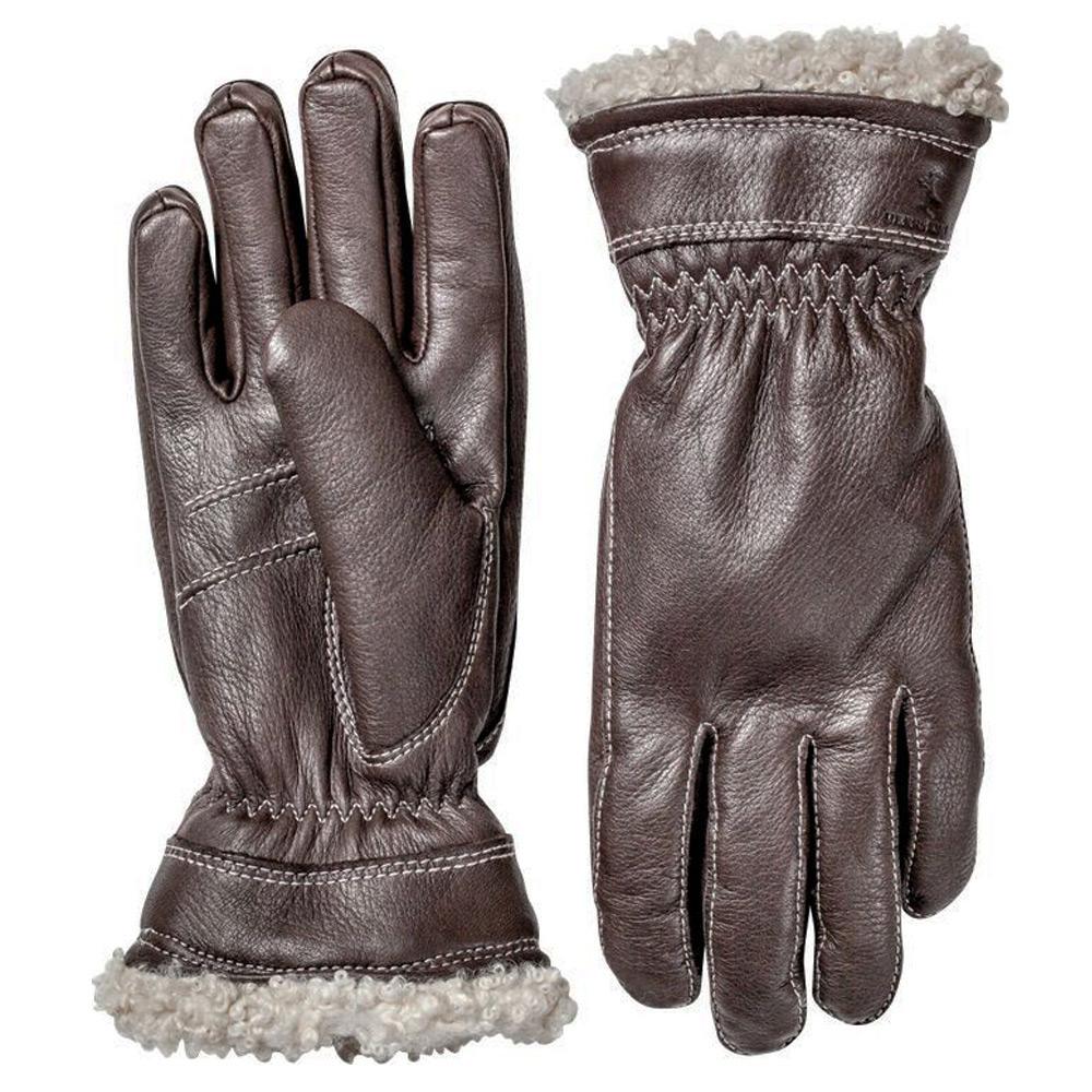 Handschoen Deerskin Primaloft Bruin