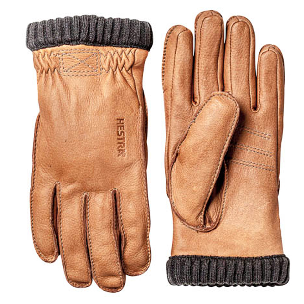 Handschoen Deerskin Primaloft Rib cork