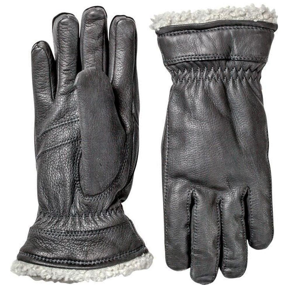 Handschoen Deerskin Primaloft Zwart