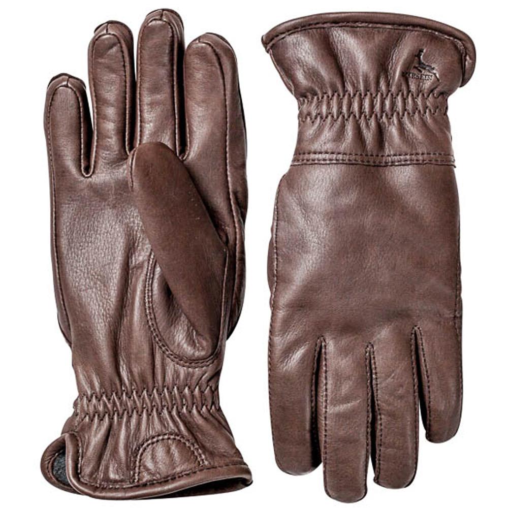 Handschoen Deerskin Winter Bruin