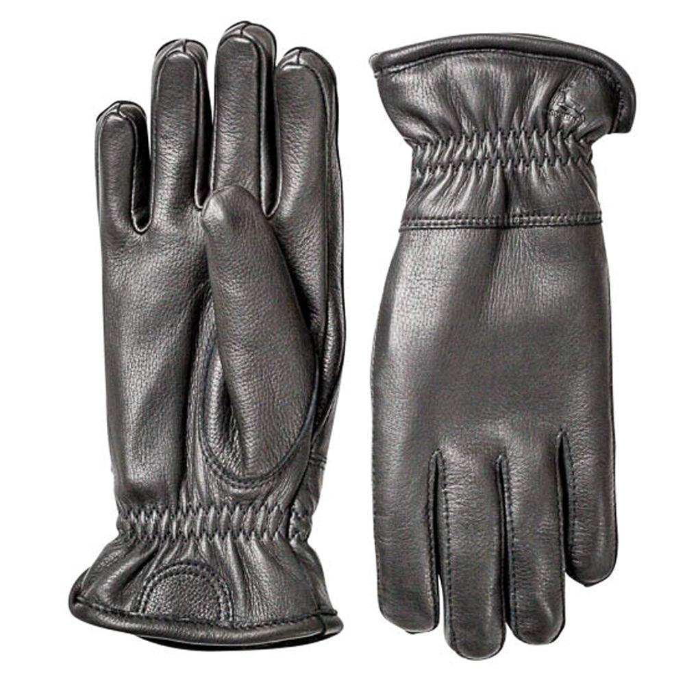 Handschoen Deerskin Winter Zwart