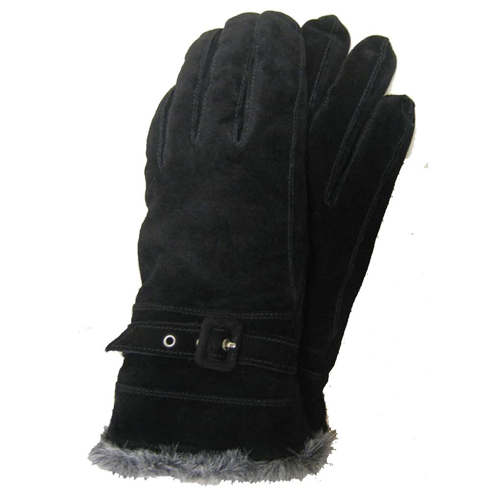Handschoen Gaucho Pernilla Zwart