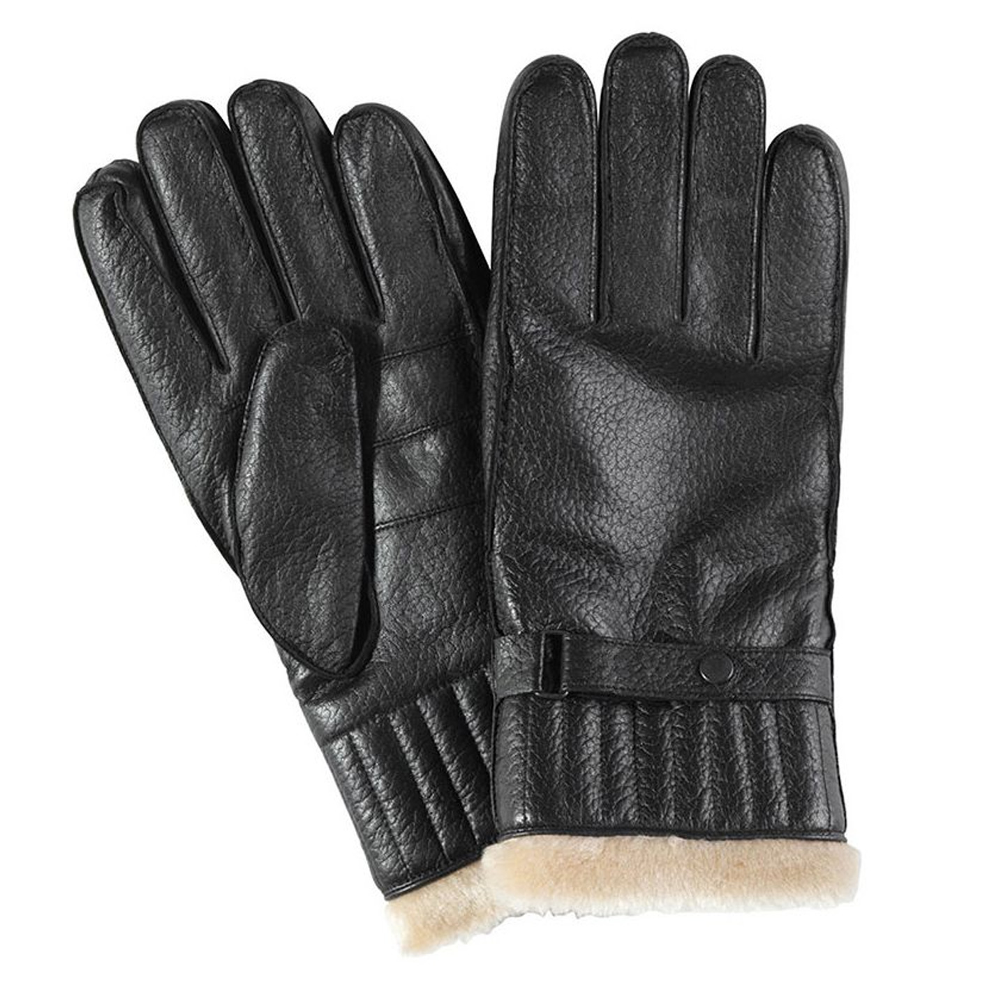 Handschoen Leather Utility Gloves Black