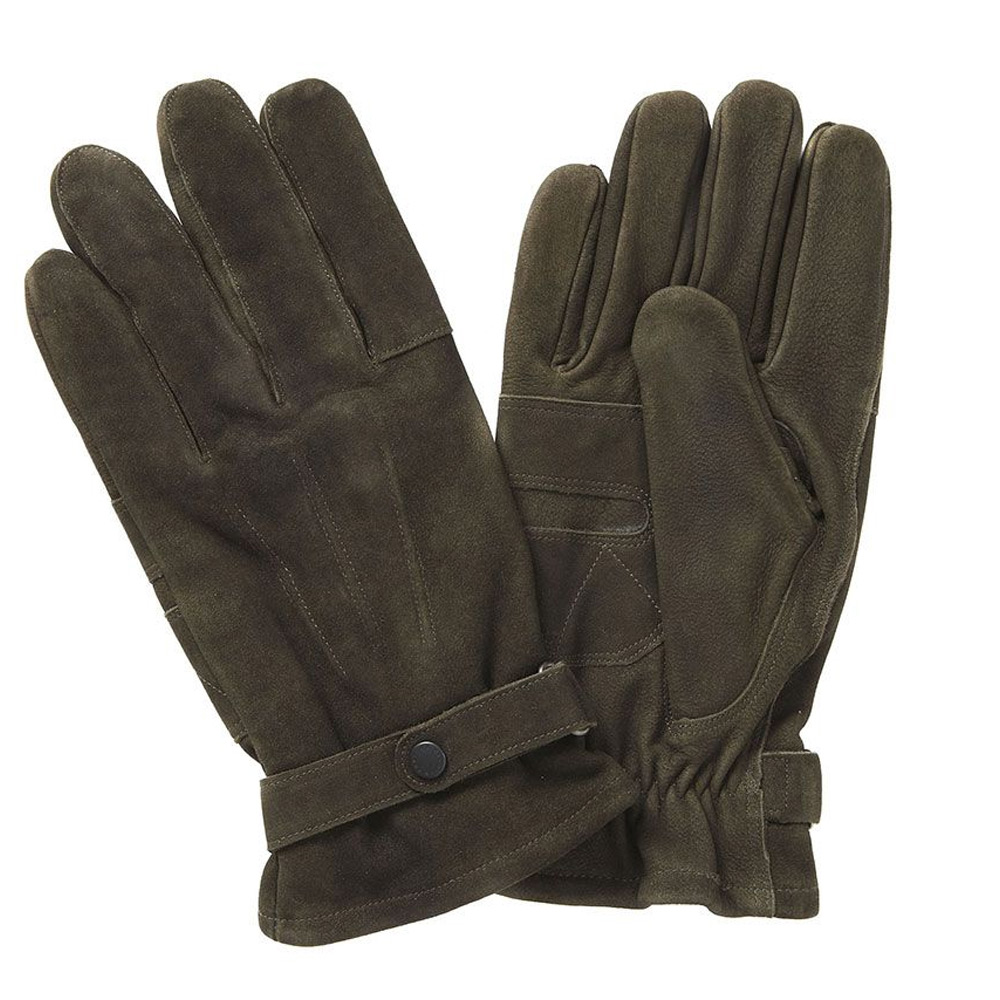 Handschoen Leder Thinsulate olive