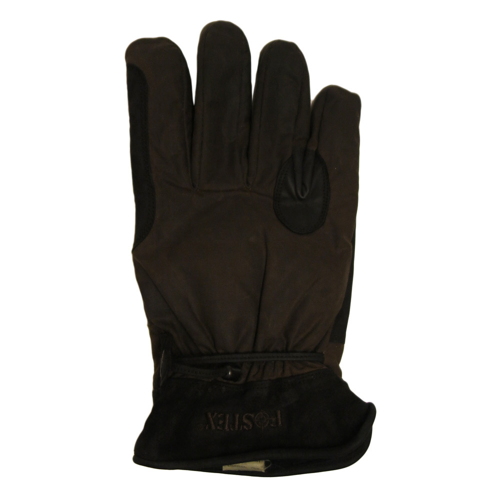 Handschoen Longhorn bruin Wax