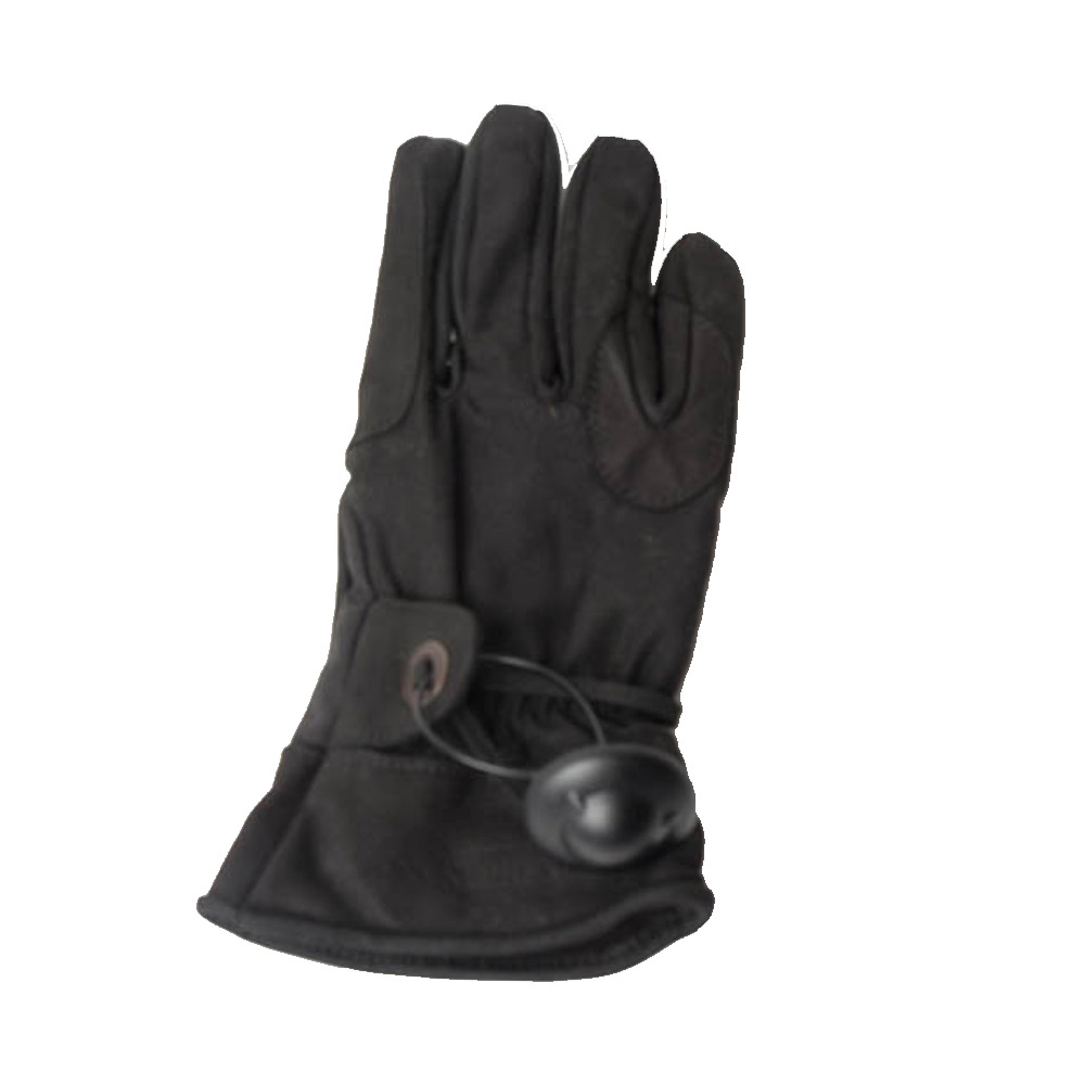 Handschoen Longhorn Zwart Wax