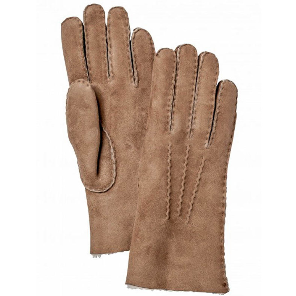 Handschoen Sheepskin Glove Men Beige