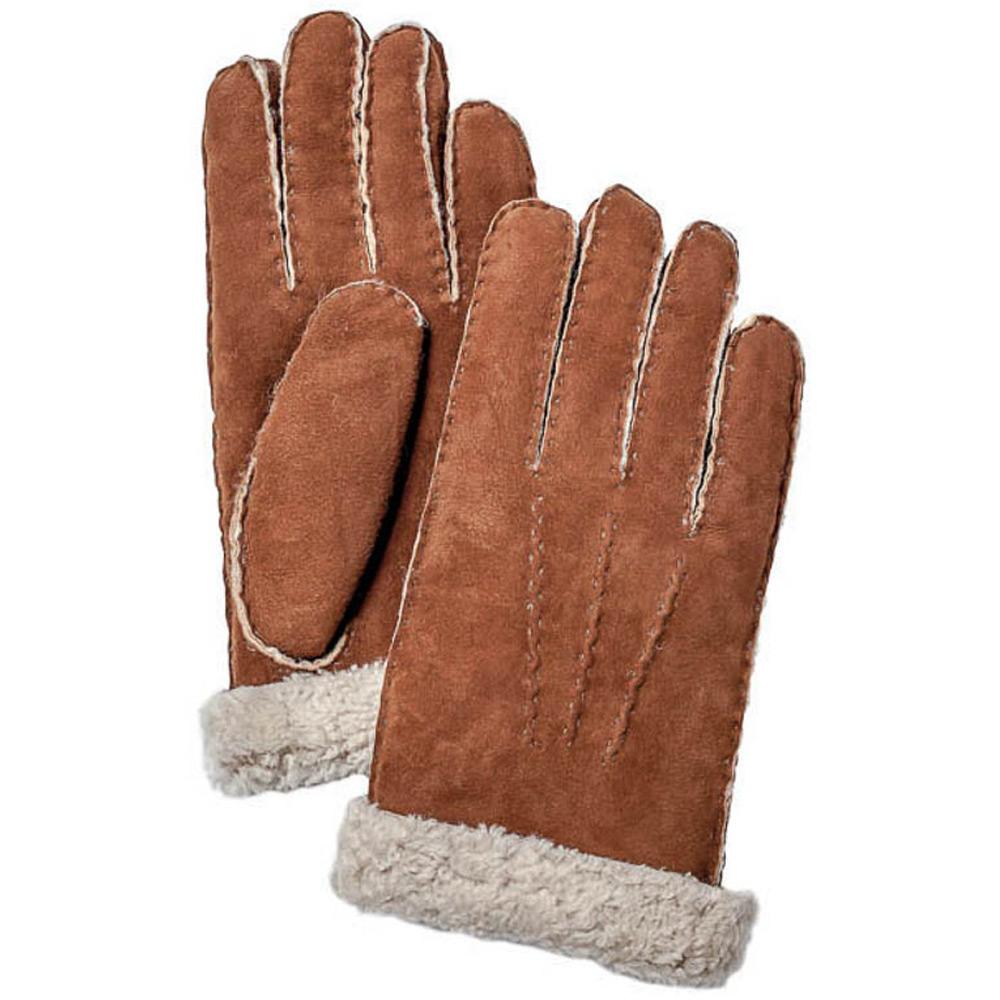 Handschoen Sheepskin Glove Men Bruin