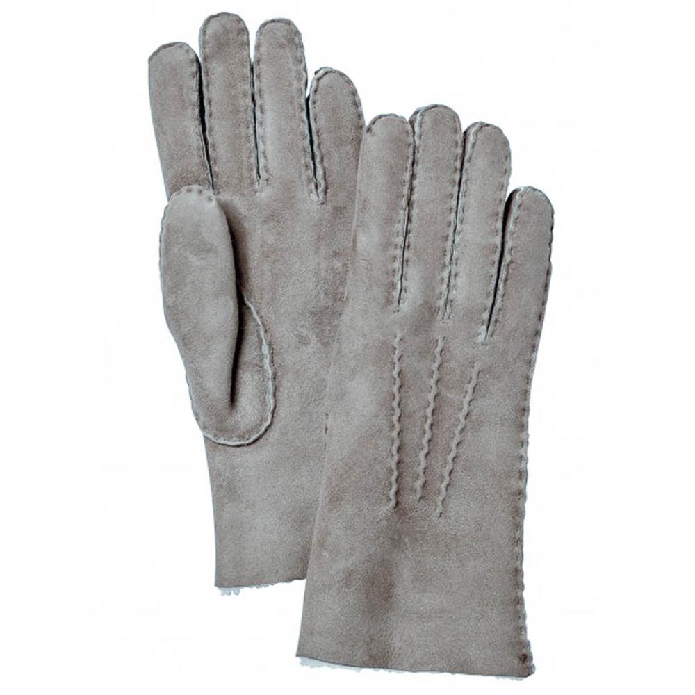 Handschoen Sheepskin Glove Men Grijs