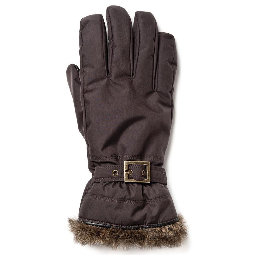 Handschoen Winter Forest 5-vinger 1 Espresso