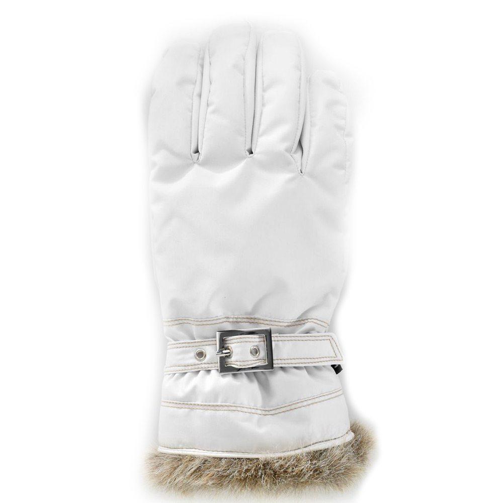Handschoen Winter Forest 5-vinger 1 Ivory