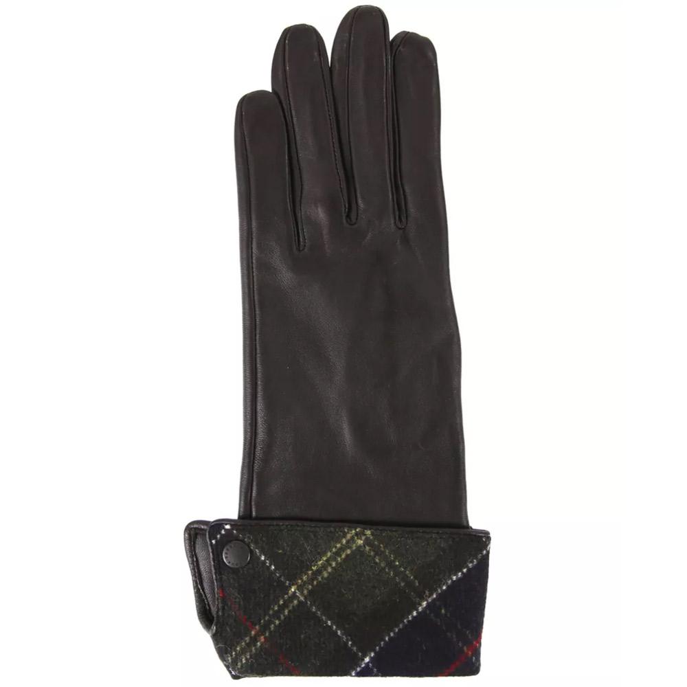 Handschoenen Lady Jane Chocolate/Groen