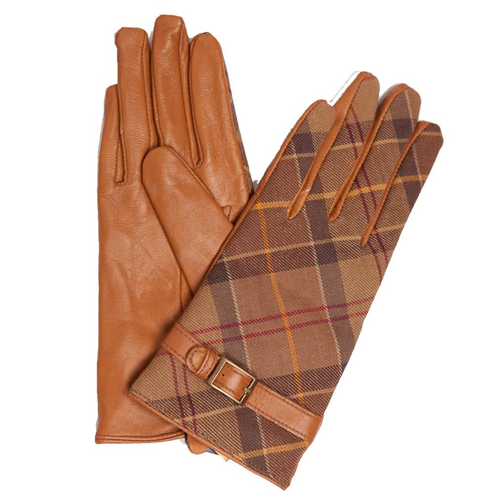 Handschoenen Valerie Tartan Tan/Muted