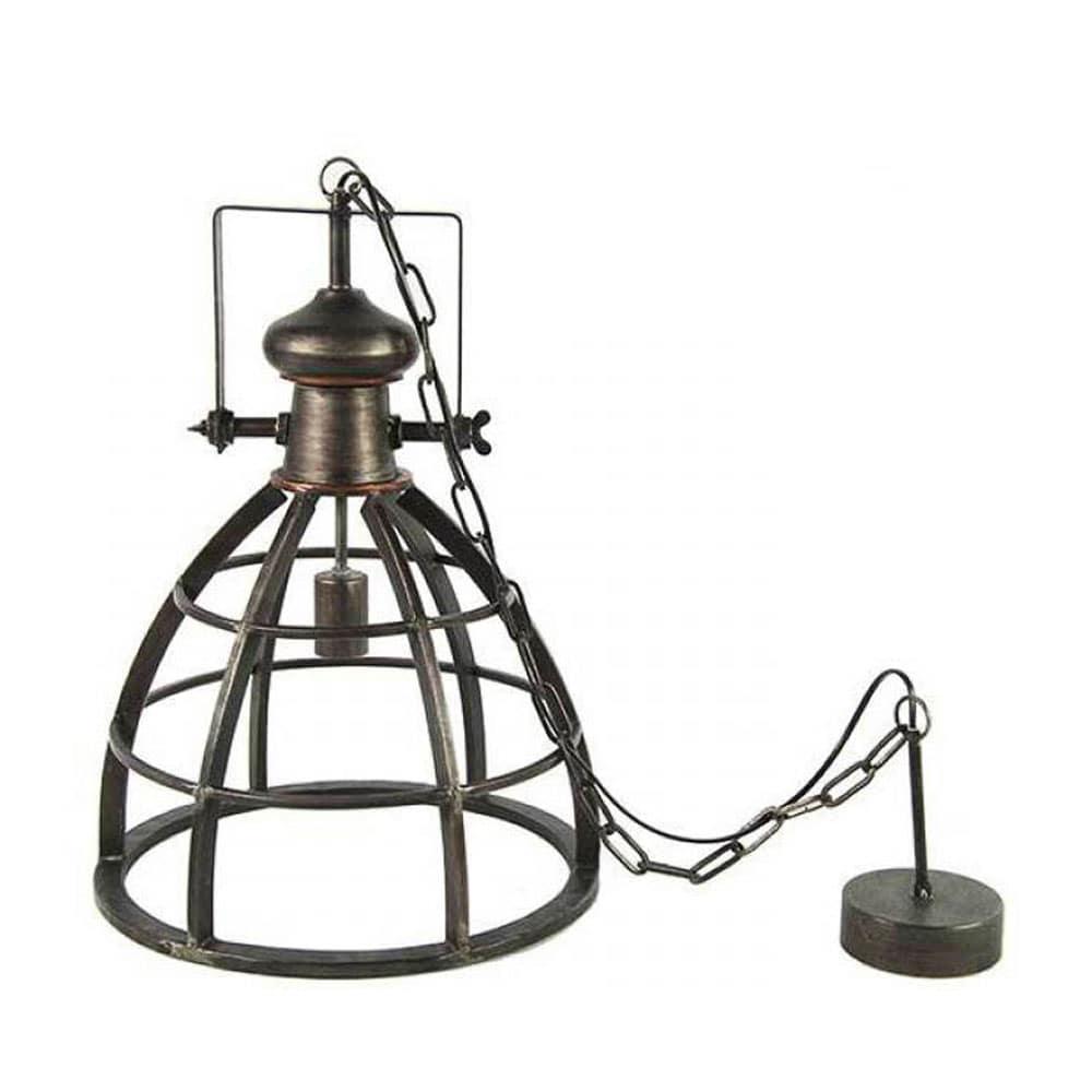 Hanglamp Barbera donkergrijs L