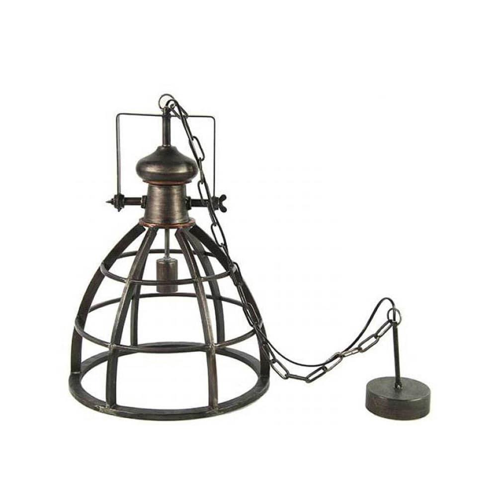 Hanglamp Barbera donkergrijs S