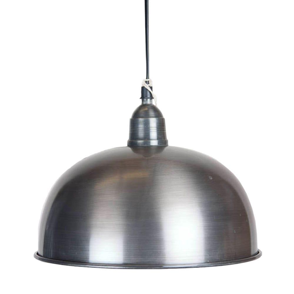 Hanglamp Bowl S Tin Antiek