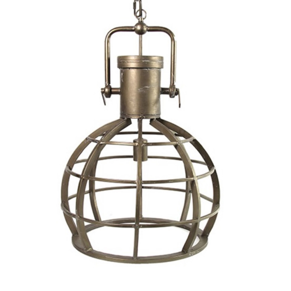 Hanglamp Gustaf goud