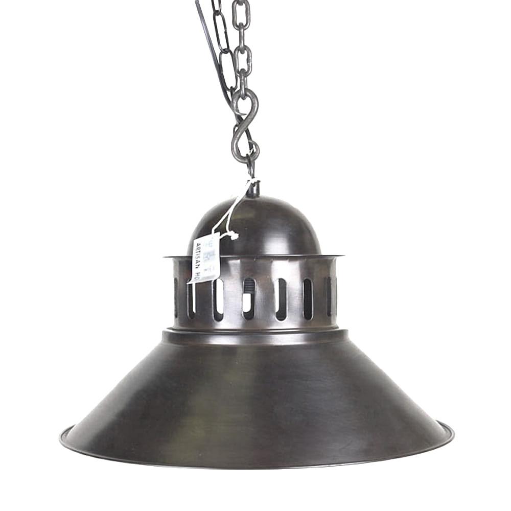 Hanglamp New Pagode tin antiek