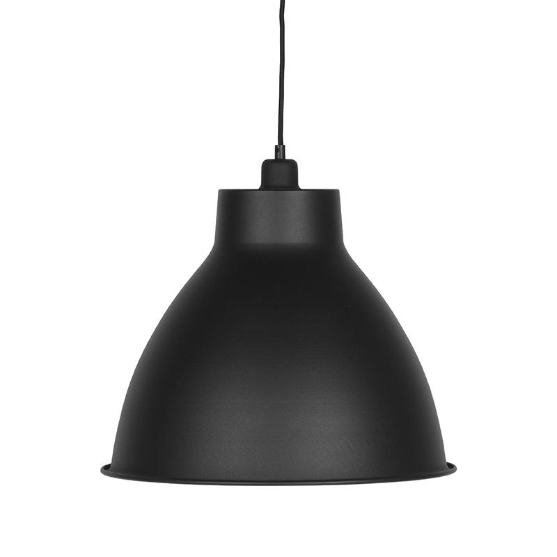 Hanglamp Dome - Zwart - Metaal