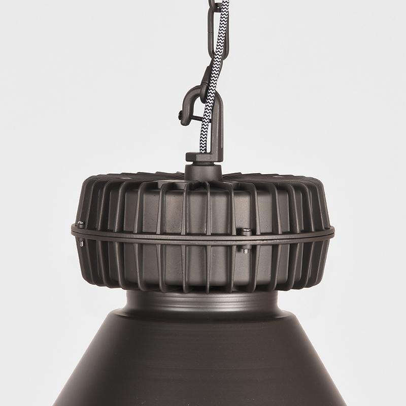 Hanglamp Duisburg - Burned Steel - Metaal